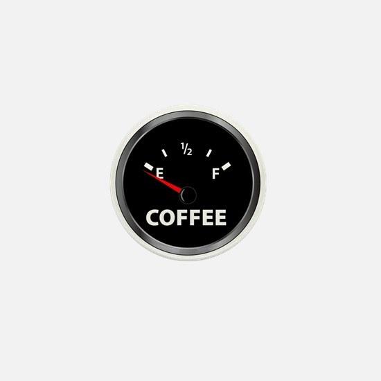 Out of Coffee Mini Button