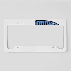 TunnelPugWht License Plate Holder