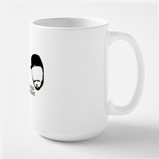 beards.gif Large Mug