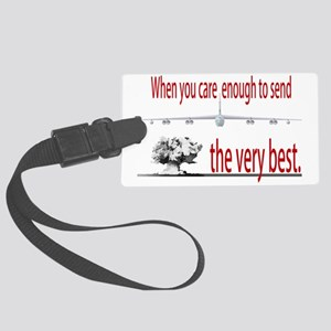 B-52-VeryBest_Front_orig Large Luggage Tag