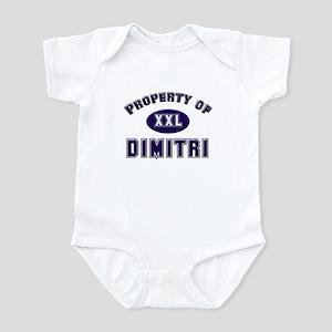 Property of dimitri Infant Bodysuit