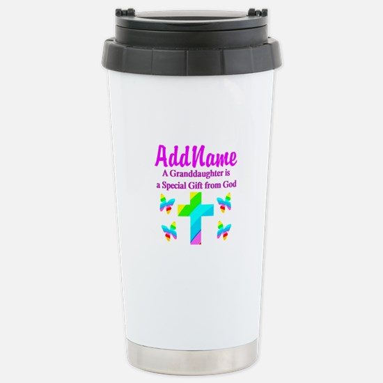 MY GRANDDAUGHTER Stainless Steel Travel Mug