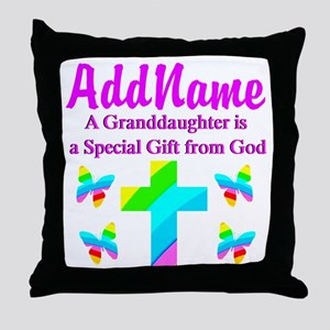 MY GRANDDAUGHTER Throw Pillow