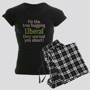 Tree Hugging Liberal Women's Dark Pajamas