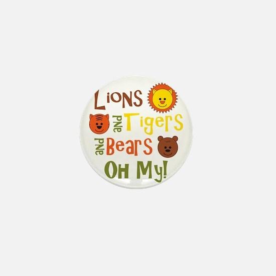 lionstigersbears Mini Button
