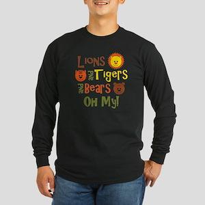 lionstigersbears Long Sleeve Dark T-Shirt