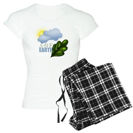 Save Earth Women's Light Pajamas