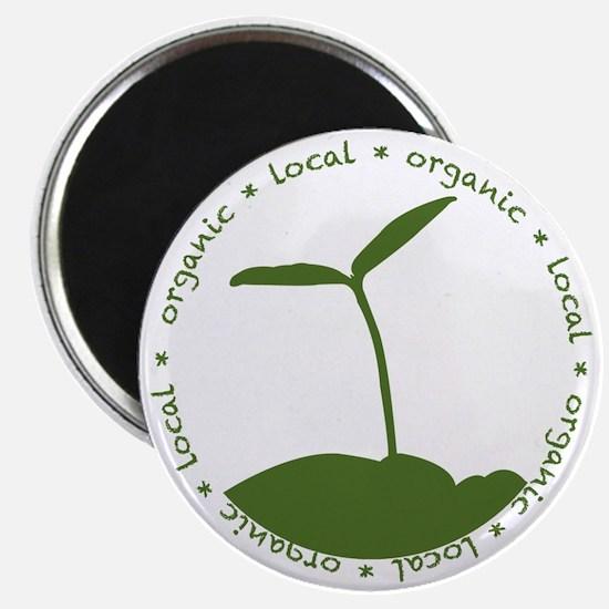 Local  Organic Magnet