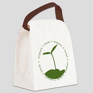 Local  Organic Canvas Lunch Bag