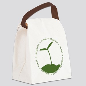Local  Organic Canvas Lunch Bag