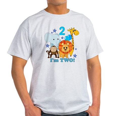 baby2JungleAnimals Light T-Shirt