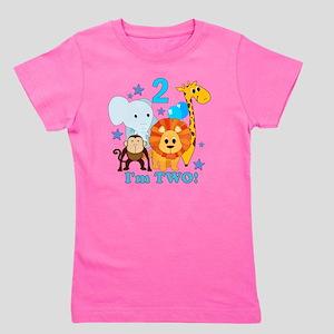 Happy Second Birthday Kids T Shirts