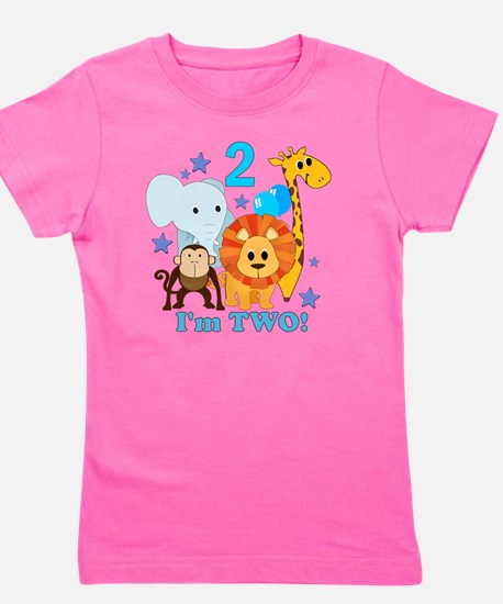 baby2JungleAnimals Girl's Tee