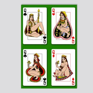 The Four Queens Postcards (Package of 8)
