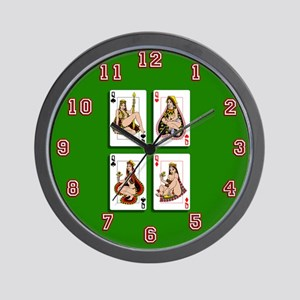 The Four Queens Wall Clock