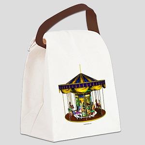 goldencarousel Canvas Lunch Bag