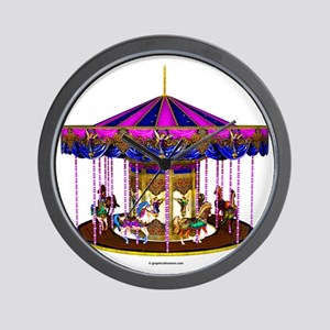 carousel Wall Clock