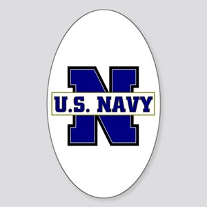 U S Navy Oval Sticker