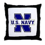 U S Navy  Throw Pillow