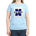 U S Navy Women's Pink T-Shirt