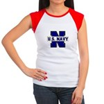 U S Navy Women's Cap Sleeve T-Shirt