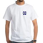 U S Navy White T-Shirt