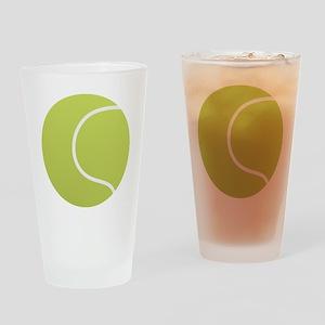 Tennis Ball Icon Drinking Glass