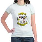 USS BASHAW Jr. Ringer T-Shirt