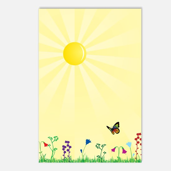 SunnyDay Postcards (Package of 8)