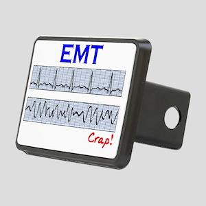 EMT funny QRS Crap Rectangular Hitch Cover