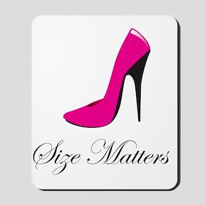 size-matters Mousepad