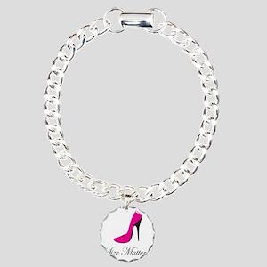 size-matters Charm Bracelet, One Charm