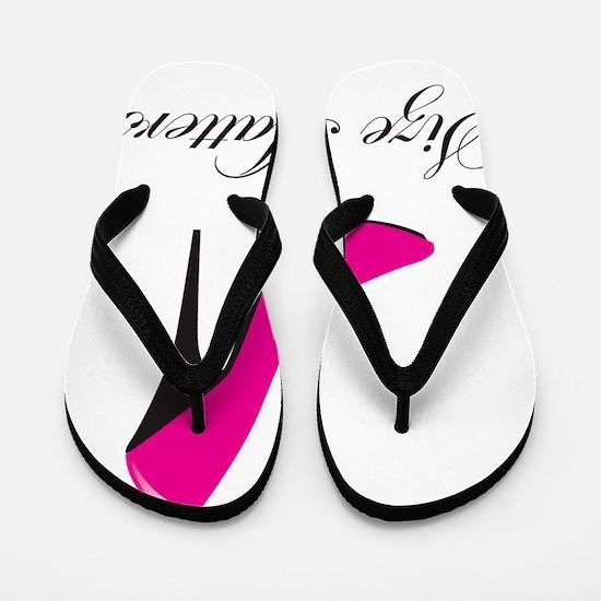 size-matters Flip Flops