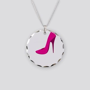size-matters-dark Necklace Circle Charm