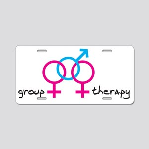 group-therapy-gbg Aluminum License Plate