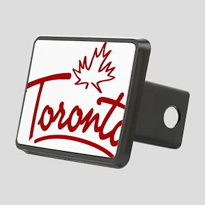 Toronto Leaf Script W Rectangular Hitch Cover