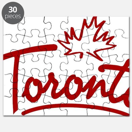 Toronto Leaf Script W Puzzle
