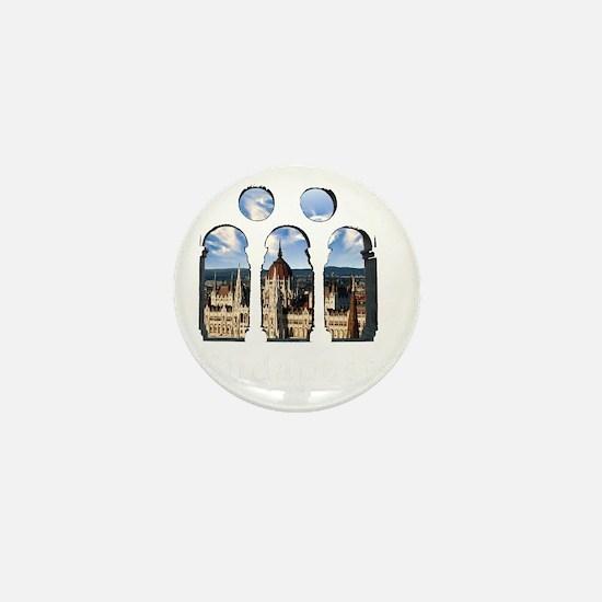 Budapest Parlament Mini Button