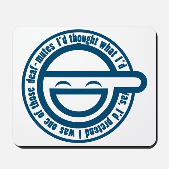 laughing-man-1 Mousepad