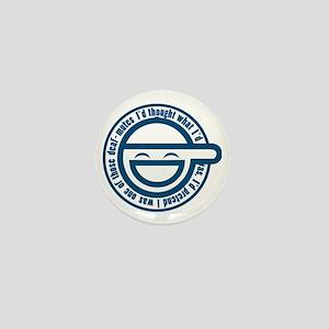 laughing-man-1 Mini Button