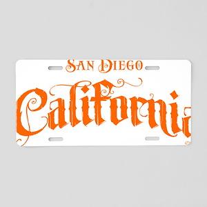 San Diego 061911 copy Aluminum License Plate