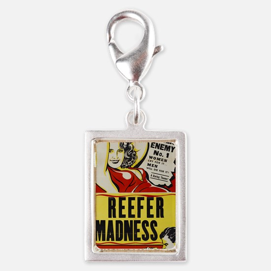 reefer_madness_BIG PNG Silver Portrait Charm