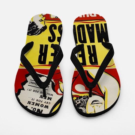 reefer_madness_BIG PNG Flip Flops