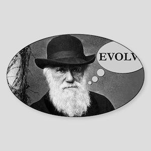 Evolve2 Sticker (Oval)