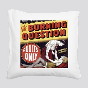 reefer_madness_poster 5.1_BIG Square Canvas Pillow