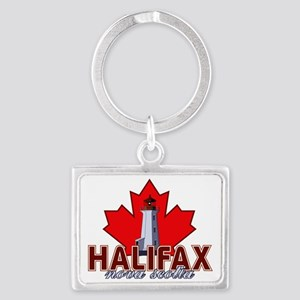 Halifax Lighthouse Landscape Keychain