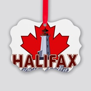 Halifax Lighthouse Picture Ornament