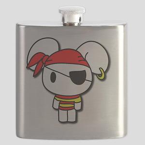 10x10_Pirate_Bunny Flask