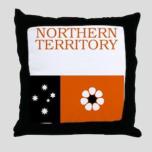 Northern_Territory_100_Dark Throw Pillow