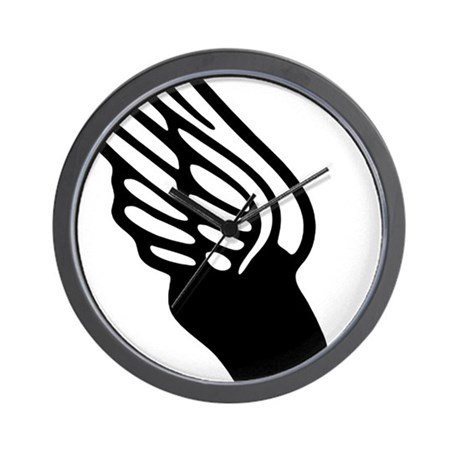 Winged Foot Mercury Symbol Wall Clock By Admincp119855